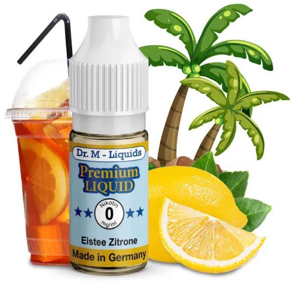 Dr. Multhaupt Eistee Zitrone Premium E-Liquid