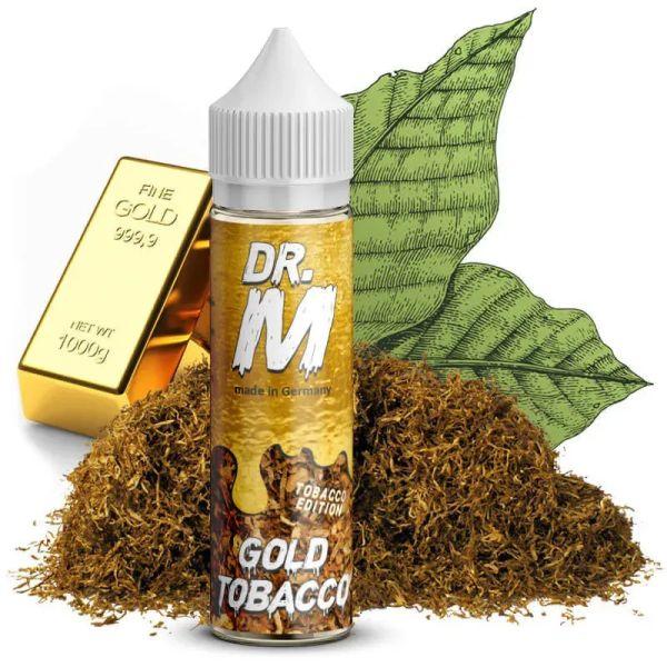 Dr. M - Gold Tobacco - Longfill - Aromashot