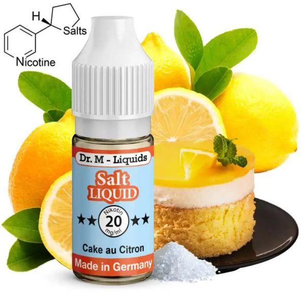 Dr. M - Liquids - Cake au Citron SALT Liquid