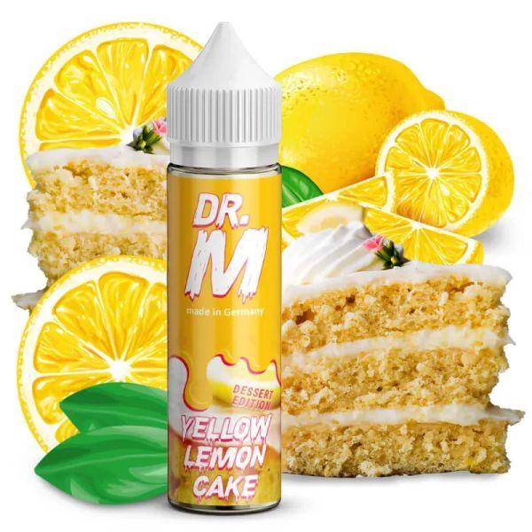 Dr. M - Yellow Lemon Cake - Longfill - Aromashot