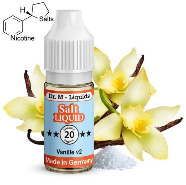 Dr. M - Liquids - Vanille v2 SALT Liquid