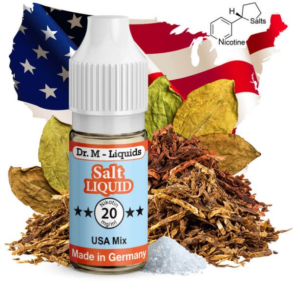 Dr. M - Liquids - USA Mix SALT Liquid