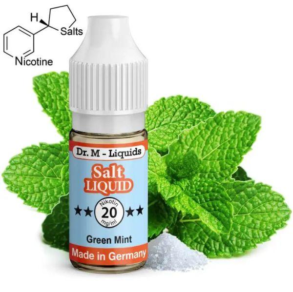 Dr. M - Liquids - Green Mint SALT Liquid