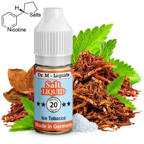 Dr. M - Liquids - Ice Tobacco SALT Liquid