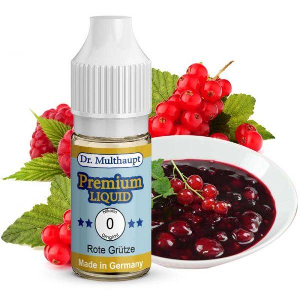 Leckeres Dr. Multhaupt Rote Grütze Premium E-Liquid