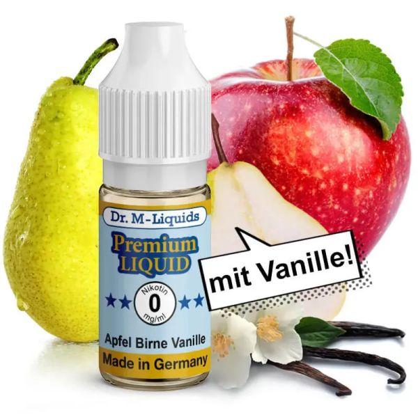 Dr. Multhaupt Apfel / Birne / Vanille Premium E-Liquid